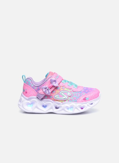 Sneakers Skechers Heart Lights Untamed Hearts Rosa immagine posteriore