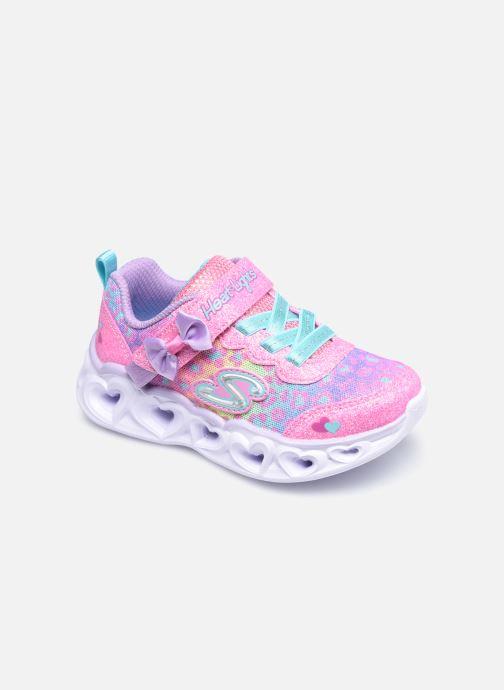 Sneakers Skechers Heart Lights Untamed Hearts Rosa vedi dettaglio/paio