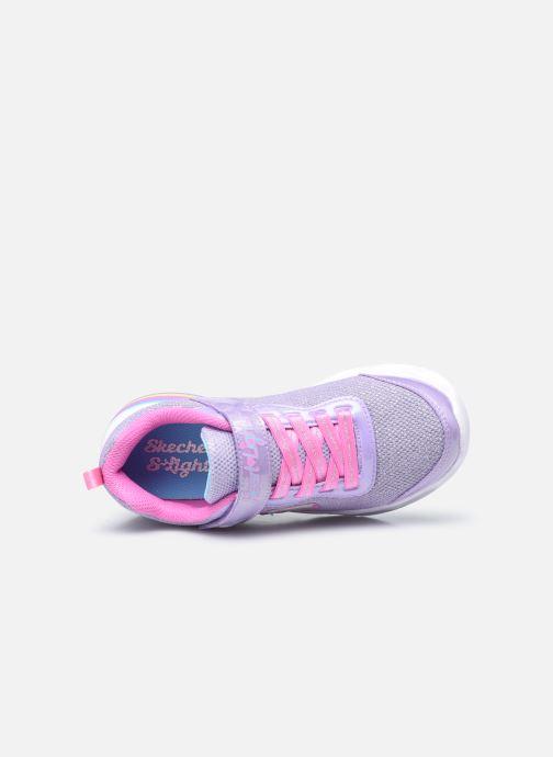Sneakers Skechers Sweetheart Lights Viola immagine sinistra