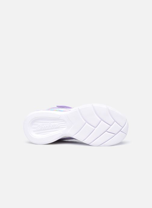 Sneakers Skechers Sweetheart Lights Viola immagine dall'alto
