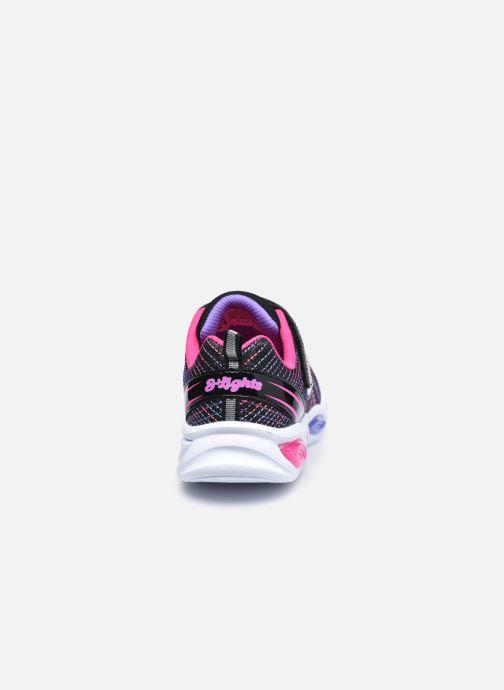 Baskets Skechers Shimmer Beams Sparkle Glow Noir vue droite