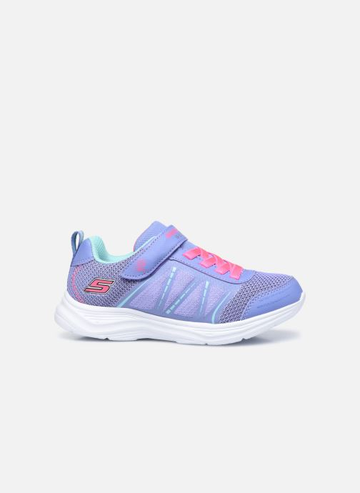 Sneakers Skechers Glimmer Kicks Blauw achterkant