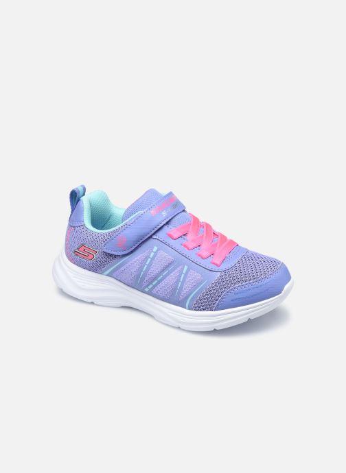 Baskets Skechers Glimmer Kicks Bleu vue détail/paire