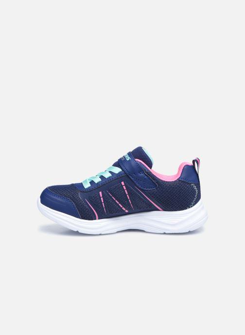 Sneaker Skechers Glimmer Kicks Shimmy Brights blau ansicht von vorne