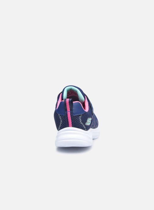 Sneaker Skechers Glimmer Kicks Shimmy Brights blau ansicht von rechts
