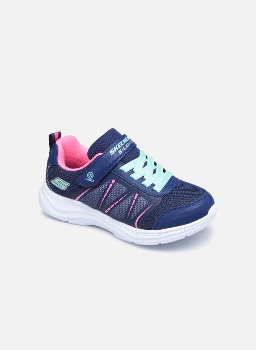 Sneaker Skechers Glimmer Kicks Shimmy Brights blau detaillierte ansicht/modell