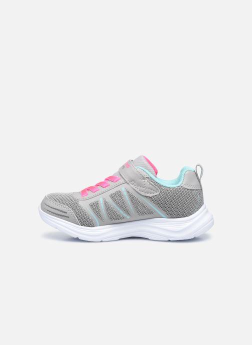 Sneaker Skechers Glimmer Kicks Shimmy Brights grau ansicht von vorne