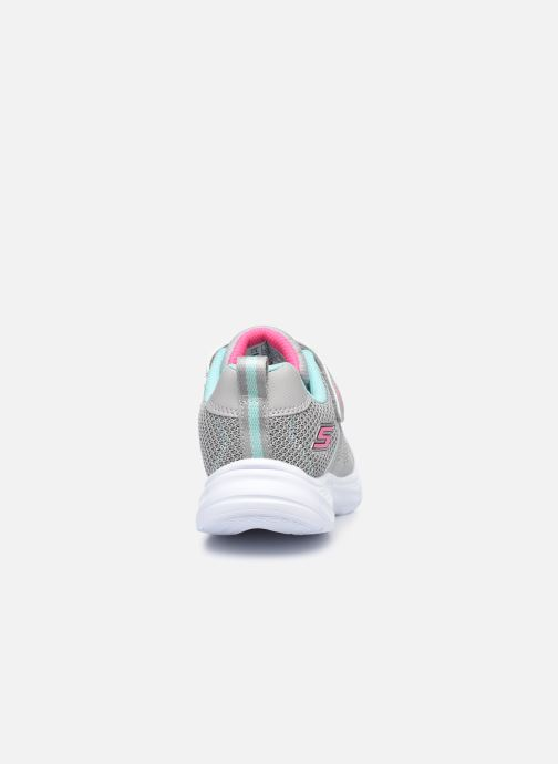 Sneaker Skechers Glimmer Kicks Shimmy Brights grau ansicht von rechts