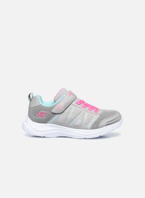 Sneaker Skechers Glimmer Kicks Shimmy Brights grau ansicht von hinten