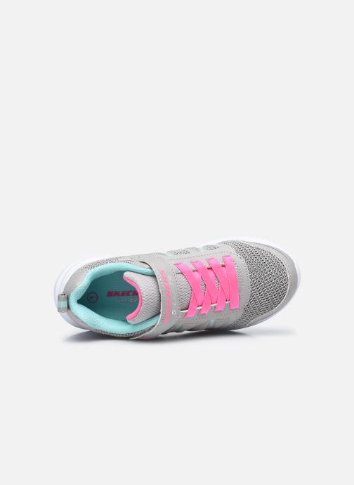 Sneaker Skechers Glimmer Kicks Shimmy Brights grau ansicht von links