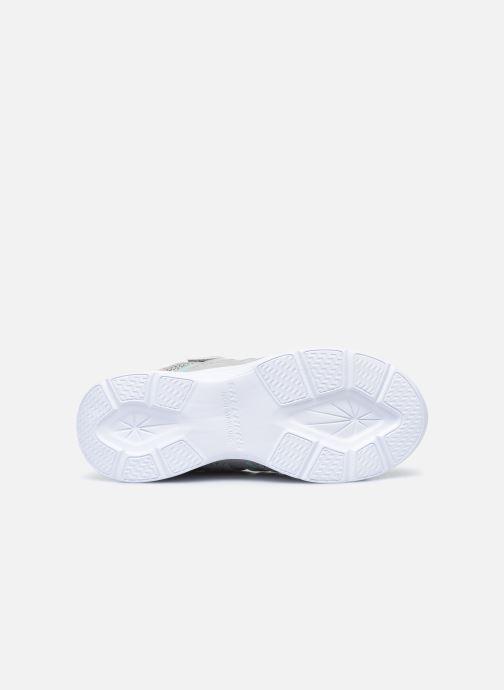Sneaker Skechers Glimmer Kicks Shimmy Brights grau ansicht von oben
