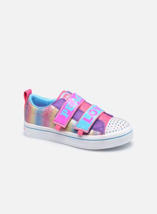 Baskets Skechers Twi-Lites 2.0 Multicolore vue détail/paire