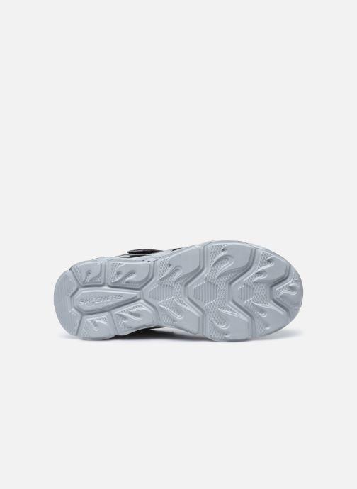 Sneaker Skechers Thermo-Flash schwarz ansicht von oben