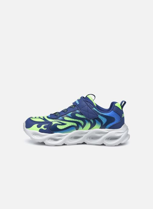 Sneakers Skechers Thermo-Flash Azzurro immagine frontale