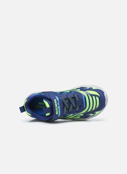 Sneakers Skechers Thermo-Flash Azzurro immagine sinistra