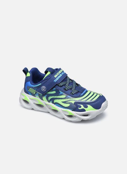 Sneakers Skechers Thermo-Flash Azzurro vedi dettaglio/paio