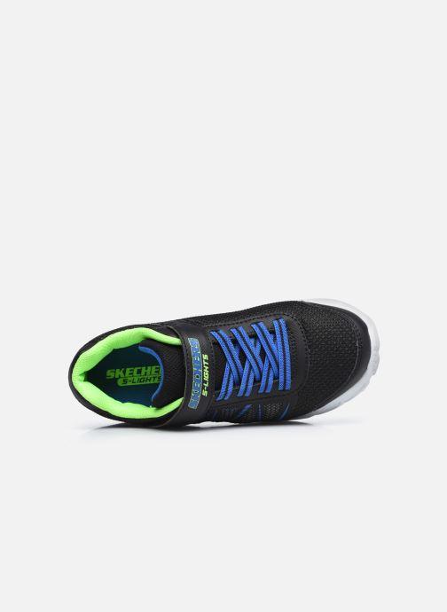 Sneakers Skechers Dynamic-Flash Nero immagine sinistra