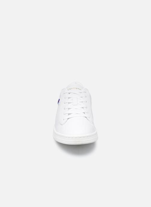 Baskets Champion Court Club Patch Blanc vue portées chaussures