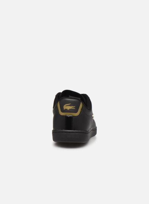 Baskets Lacoste Carnaby Evo 0120 1 Noir vue droite