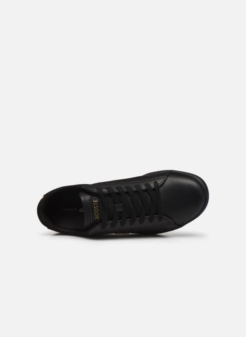Baskets Lacoste Carnaby Evo 0120 1 Noir vue gauche