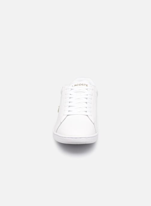 Baskets Lacoste Carnaby Evo 0120 1 Blanc vue portées chaussures