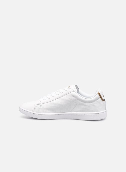Baskets Lacoste Carnaby Evo 0120 1 Blanc vue face