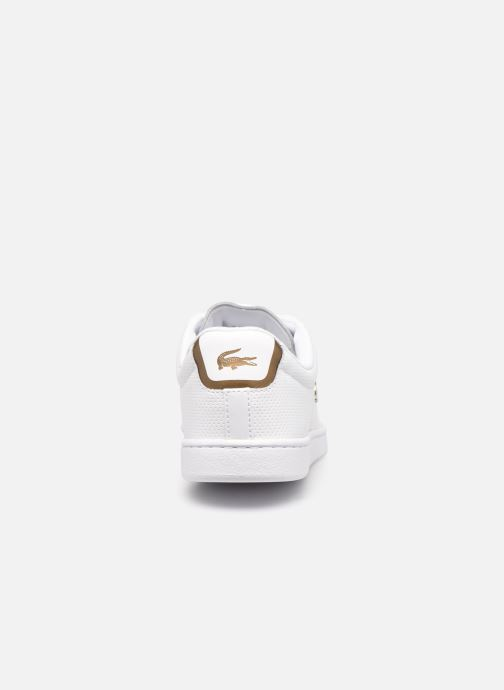 Baskets Lacoste Carnaby Evo 0120 1 Blanc vue droite