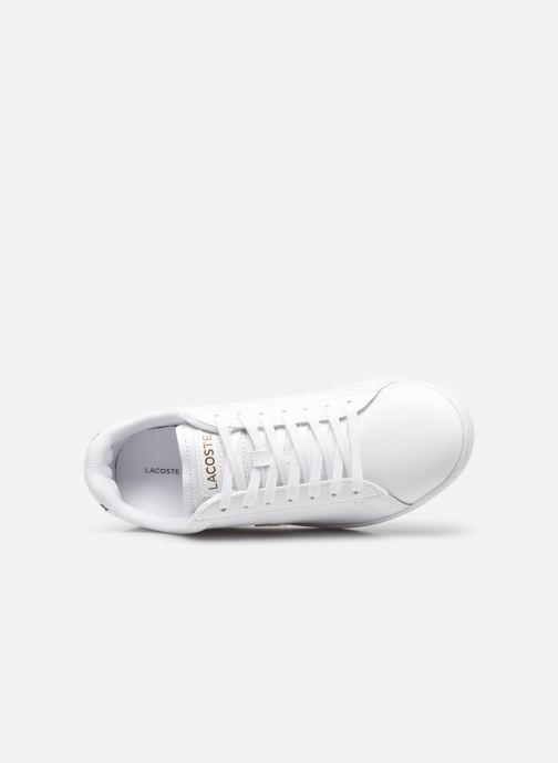 Baskets Lacoste Carnaby Evo 0120 1 Blanc vue gauche