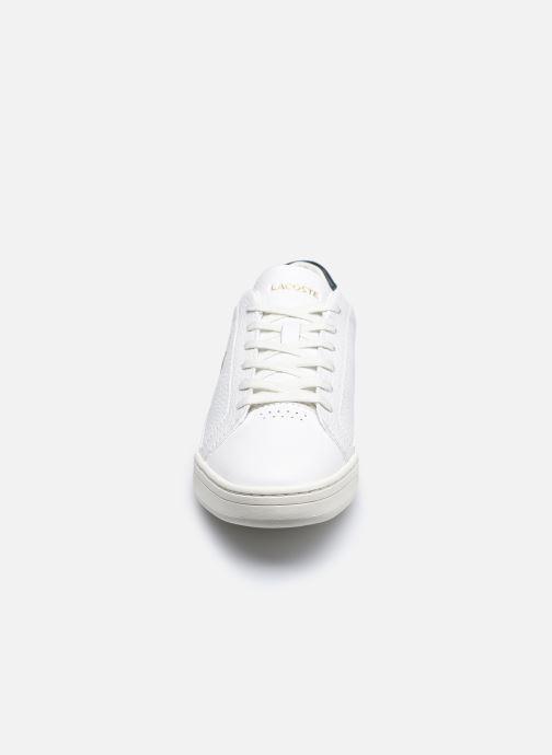 Baskets Lacoste Challenge 0120 1 W Blanc vue portées chaussures