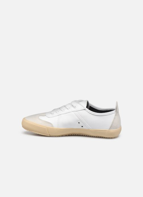 Baskets Lacoste Contest 0120 4 W Blanc vue face