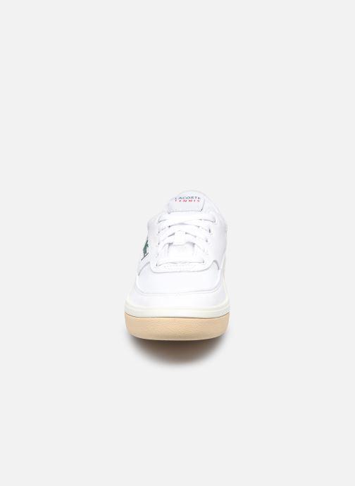 Baskets Lacoste G80 0120 1 W Blanc vue portées chaussures