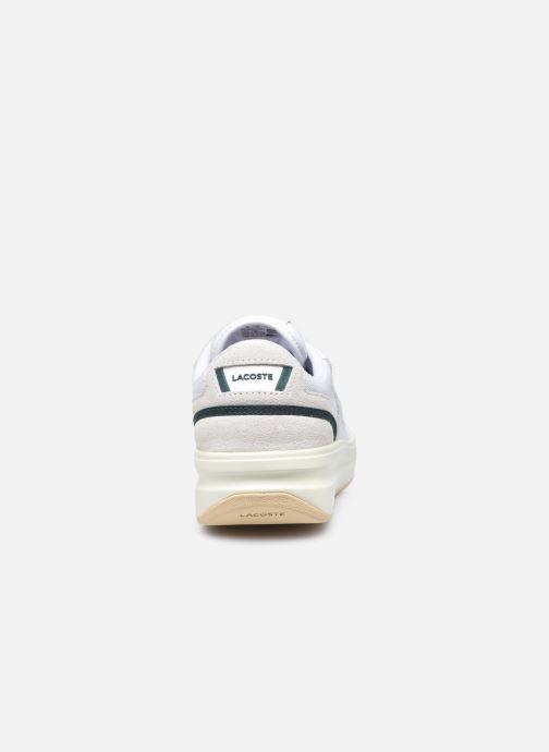 Baskets Lacoste G80 0120 1 W Blanc vue droite