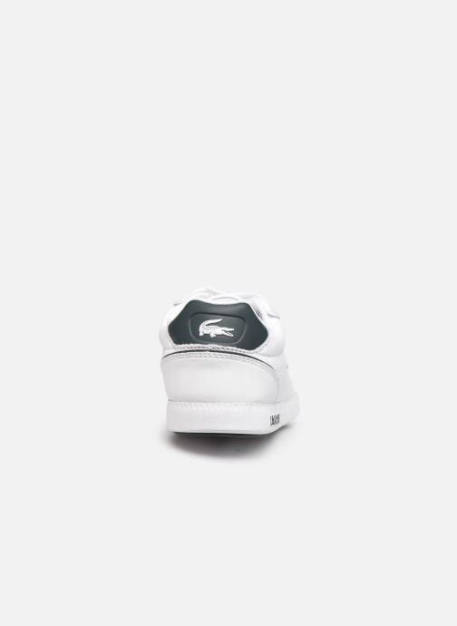 Baskets Lacoste Graduate Cap 0120 1 W Blanc vue droite