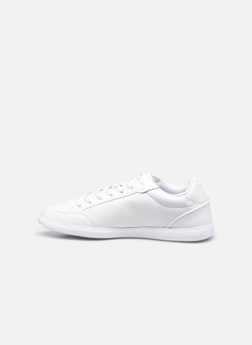 Sneaker Lacoste Graduate Cap 0120 1 W weiß ansicht von vorne
