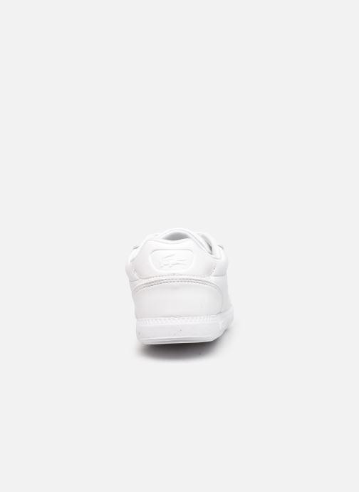 Sneaker Lacoste Graduate Cap 0120 1 W weiß ansicht von rechts