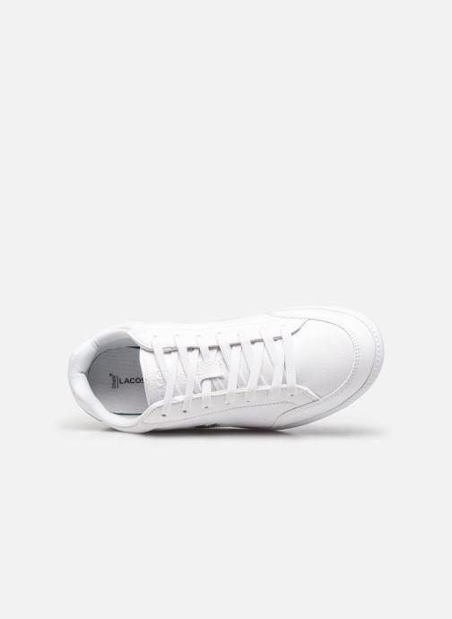 Sneaker Lacoste Graduate Cap 0120 1 W weiß ansicht von links