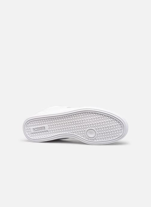 Sneaker Lacoste Graduate Cap 0120 1 W weiß ansicht von oben