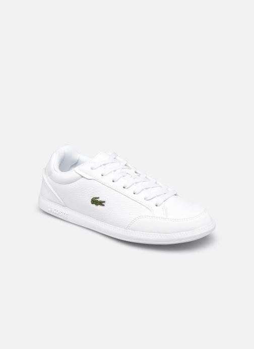 Sneaker Lacoste Graduate Cap 0120 1 W weiß detaillierte ansicht/modell