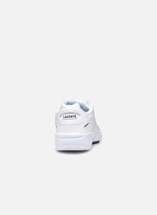 Baskets Lacoste Storm 96 Lo 0120 3 W Blanc vue droite