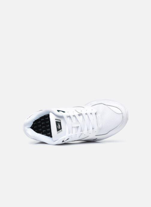 Baskets Lacoste Storm 96 Lo 0120 3 W Blanc vue gauche