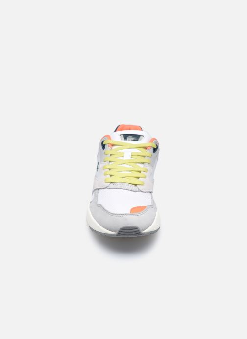 Baskets Lacoste Storm 96 Lo 0120 2 W Gris vue portées chaussures
