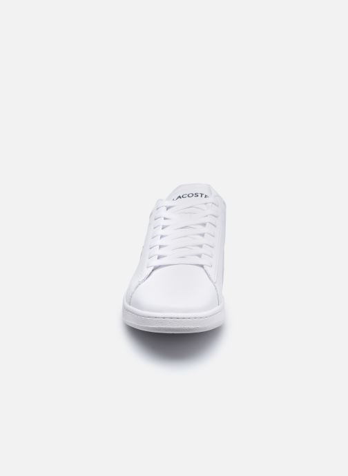 Baskets Lacoste Carnaby Evo 0120 4 Blanc vue portées chaussures