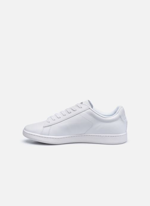 Baskets Lacoste Carnaby Evo 0120 4 Blanc vue face