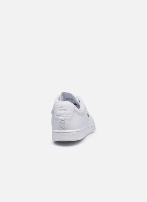 Baskets Lacoste Carnaby Evo 0120 4 Blanc vue droite