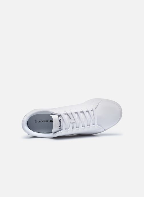 Sneakers Lacoste Carnaby Evo 0120 4 Bianco immagine sinistra