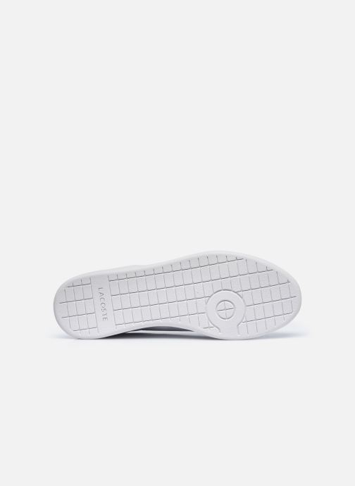 Baskets Lacoste Carnaby Evo 0120 4 Blanc vue haut