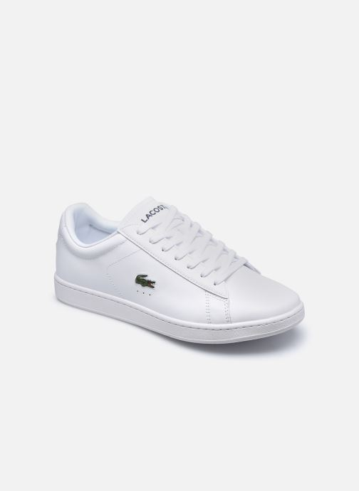 Baskets Lacoste Carnaby Evo 0120 4 Blanc vue détail/paire