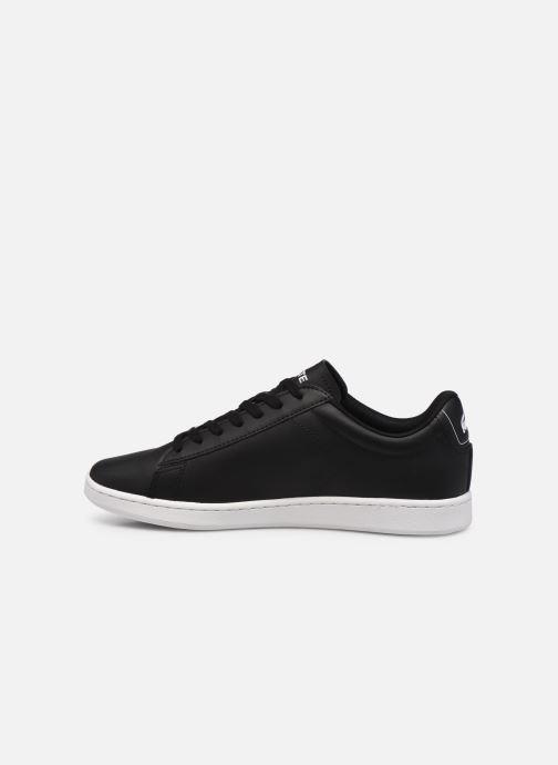 Sneakers Lacoste Carnaby Evo 0120 4 Nero immagine frontale