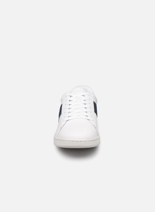 Baskets Lacoste Carnaby Evo 0120 3 Blanc vue portées chaussures