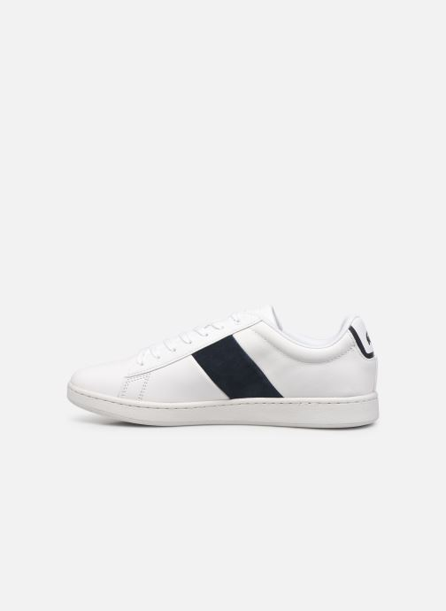 Baskets Lacoste Carnaby Evo 0120 3 Blanc vue face